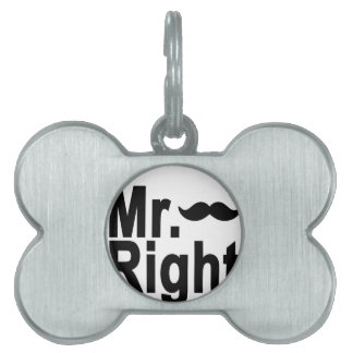 Mr always right.png pet name tag