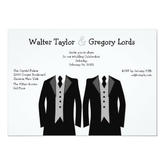 gay wedding invitations & announcements | zazzle, Wedding invitations