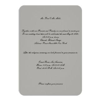 Mr. and Mr. Wedding Invitation