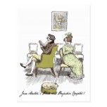 Mr and Mrs Bennet P&P Jane Austen Post Card