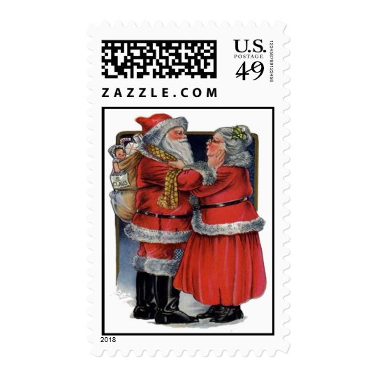 Mr and Mrs Claus Postage