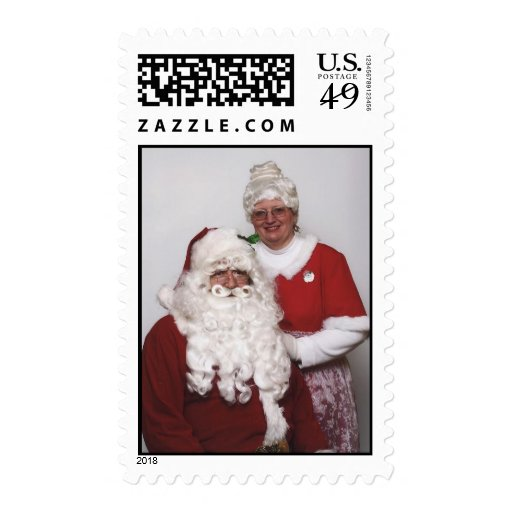 Mr and Mrs Claus Stamps