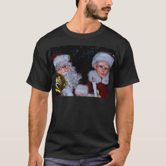 Mr and Mrs Claus T-Shirt