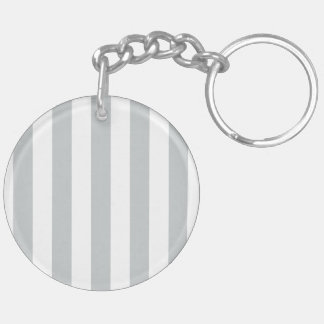 Mr. and Mrs. Click to Customize Color Stripes Keychain
