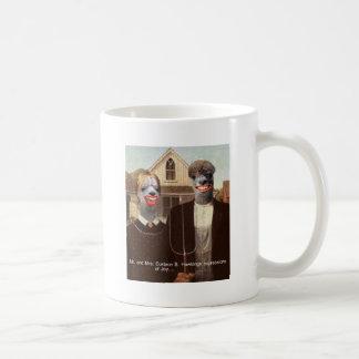 Mr and Mrs Eustace B. Hawkings Expressions of joy Coffee Mug