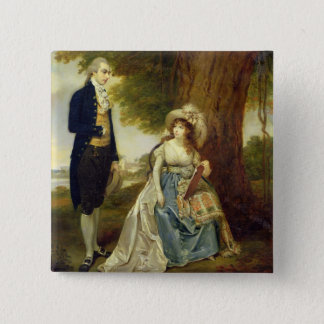 Mr and Mrs Fraser, c.1785-90 (oil on canvas) Button