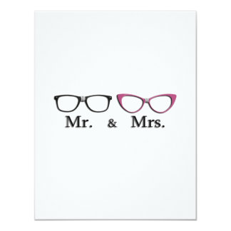 Mr. And Mrs. Geek Card