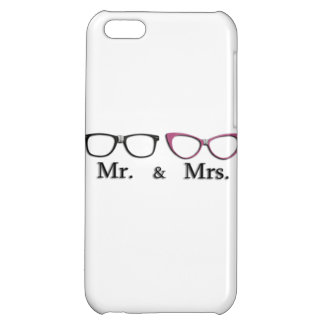Mr. And Mrs. Geek Case For iPhone 5C