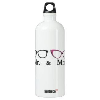 Mr. And Mrs. Geek SIGG Traveler 1.0L Water Bottle