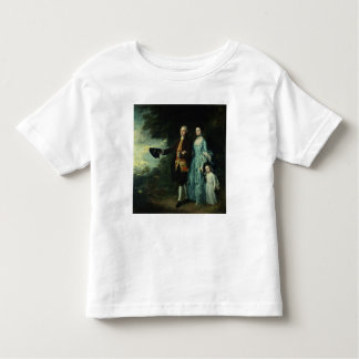 Mr. and Mrs. George Byam and their eldest Tee Shirt