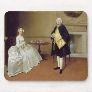 Mr and Mrs Hill, c.1750-51 (oil on canvas) Mouse Pad