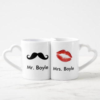 MR and MRS Newly Wed Lovers Mugs Couples Mug