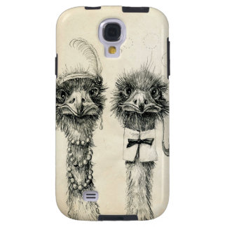 Mr. and Mrs. Ostrich Galaxy S4 Case