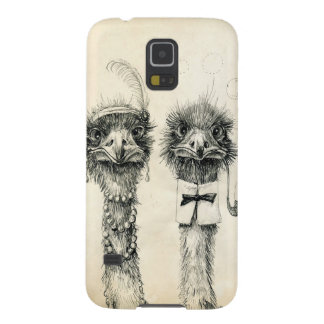 Mr. and Mrs. Ostrich Galaxy S5 Case