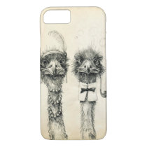 Mr. and Mrs. Ostrich iPhone 7 Case