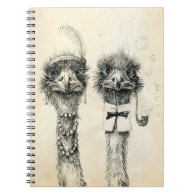 Mr. and Mrs. Ostrich Journal