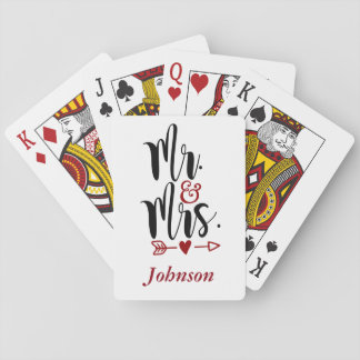 Mr. and Mrs. Playing Cards