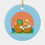 Mr. and Mrs. Potato Head at Sunset Ornament