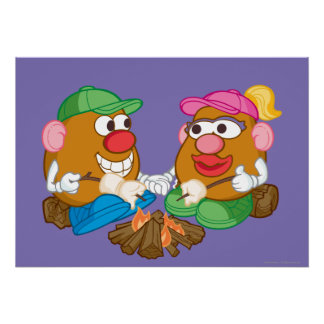 Mr. and Mrs. Potato Head - Campfire Poster