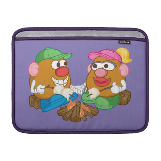Mr. and Mrs. Potato Head - Campfire Sleeve For MacBook Air