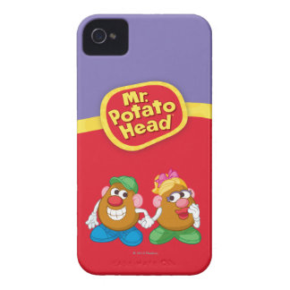 Mr. and Mrs. Potato Head Holding Hands iPhone 4 Cover