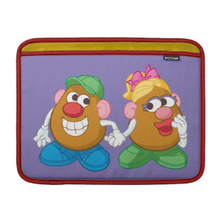 Mr. and Mrs. Potato Head Holding Hands MacBook Sleeve