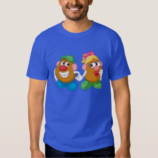 Mr. and Mrs. Potato Head Holding Hands Tees