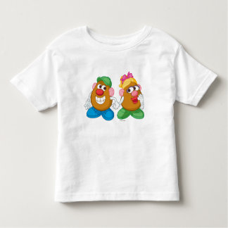 Mr. and Mrs. Potato Head Holding Hands Toddler T-shirt