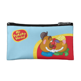 Mr. and Mrs. Potato Head Kissing Cosmetic Bag