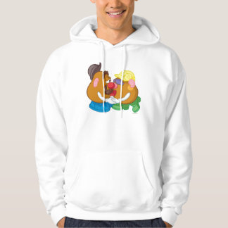 Mr. and Mrs. Potato Head Kissing Hoodie