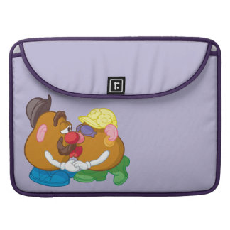 Mr. and Mrs. Potato Head Kissing MacBook Pro Sleeve