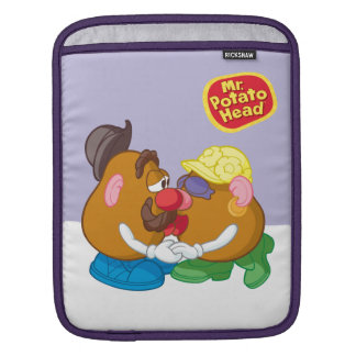 Mr. and Mrs. Potato Head Kissing Sleeve For iPads