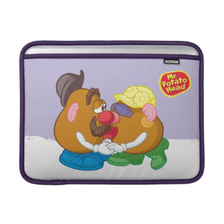 Mr. and Mrs. Potato Head Kissing Sleeve For MacBook Air