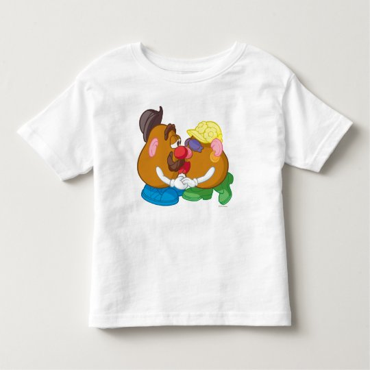 Mr. and Mrs. Potato Head Kissing Toddler T-shirt