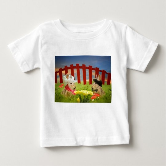 Mr. and Mrs. Rabbit Baby T-Shirt