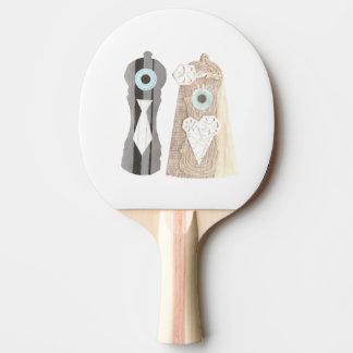 Mr and Mrs Salt n Pepper Ping Pong Bat