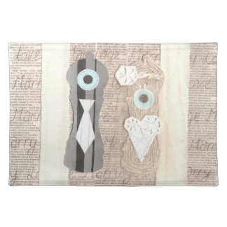 Mr and Mrs Salt n Pepper Placemat