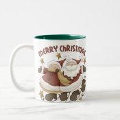 Mr. And Mrs. Santa Claus Christmas mug