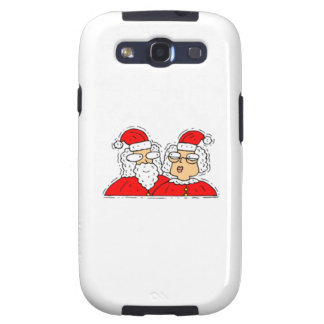 Mr and Mrs Santa Claus Galaxy SIII Cover