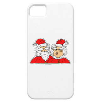 Mr and Mrs Santa Claus iPhone SE/5/5s Case