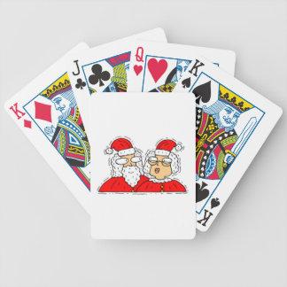 Mr and Mrs Santa Claus Card Decks