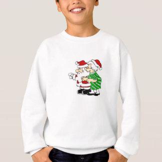 Mr and Mrs Santa Claus Sweatshirt