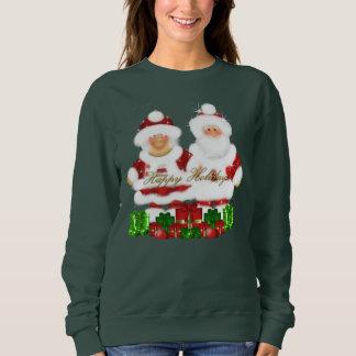 Mr. and Mrs. Santa Claus sweatshirt