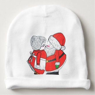 MR. AND MRS. SANTA CLAUSE infant hat