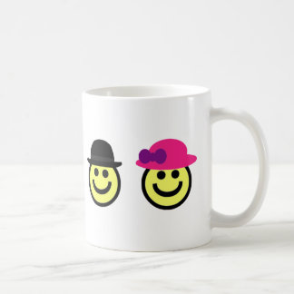 Mr. and Mrs.Smiley Face Mug