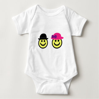 Mr. and Mrs.Smiley Face Shirt