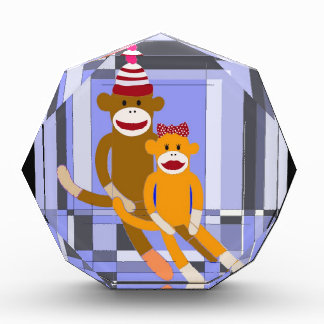 Mr. and Mrs. Sock Monkey. Award