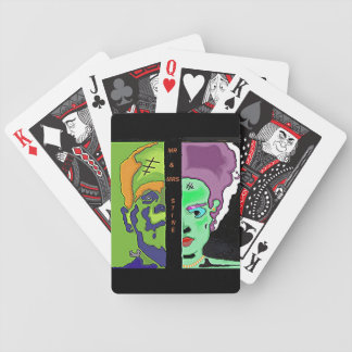 Mr and Mrs stine Bicycle Playing Cards