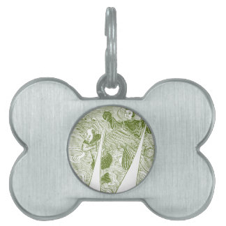 Mr and Mrs. Thunder Pet ID Tag