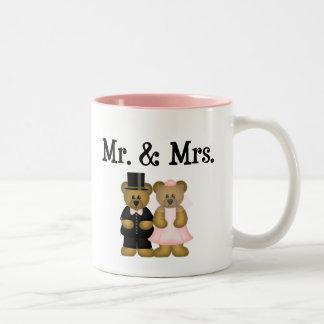 Mr and Mrs Two-Tone Coffee Mug
